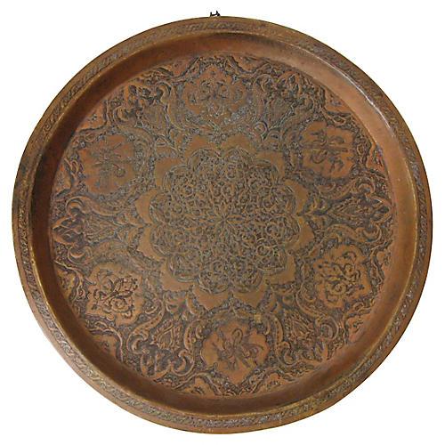 Arts & Crafts Copper Tray