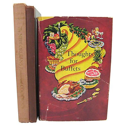 Cookbooks for Entertaining, S/3