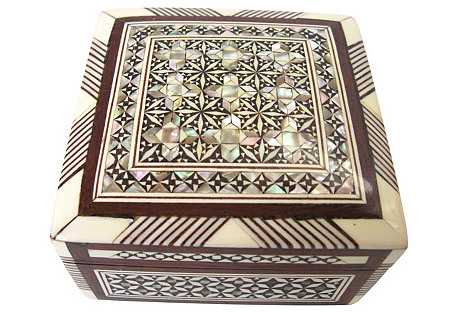 Square Inlay Box