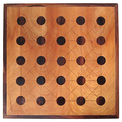 Inlaid Teeko Game Board