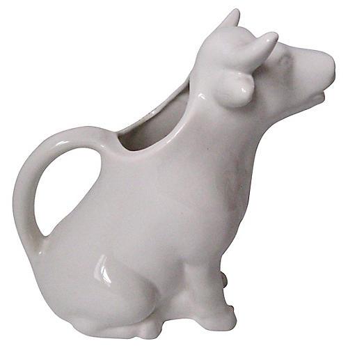 Ceramic Cow Pitcher