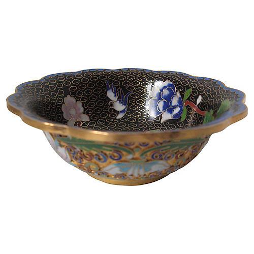 Champlevé & Cloisonné Bowl