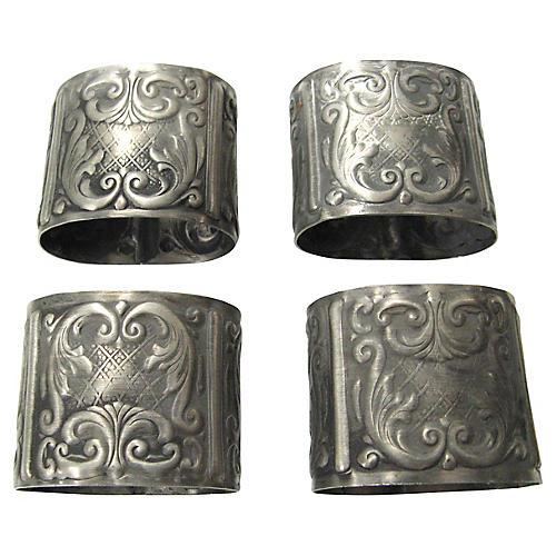 Norwegian Napkin Rings, S/4