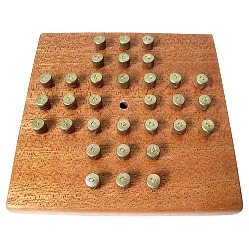 Pyramid Peg Puzzle Game