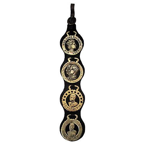 English Horse Brass Medallions