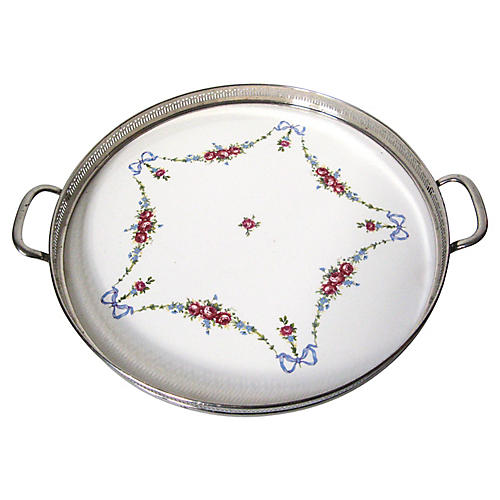 Porcelain Gallery Tray