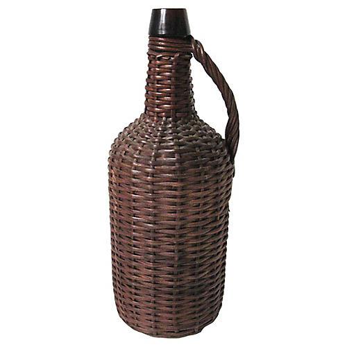 Wicker Wrap Bottle