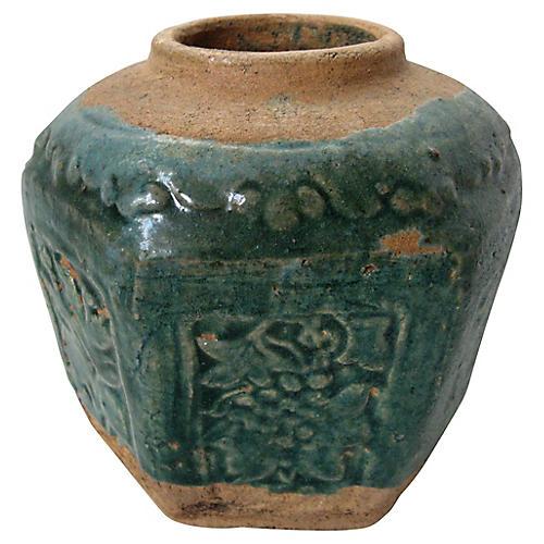 Chinese Green-Glaze Pot