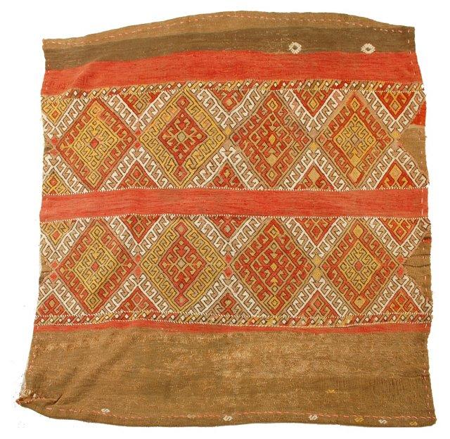 Moroccan Soumak, 4' x 4'