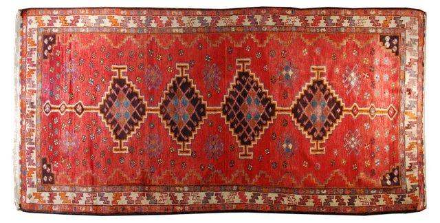 Antique Persian Rug, 5' x 11'