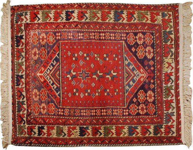 "Sparta Carpet, 3'6"" x 3'7"""