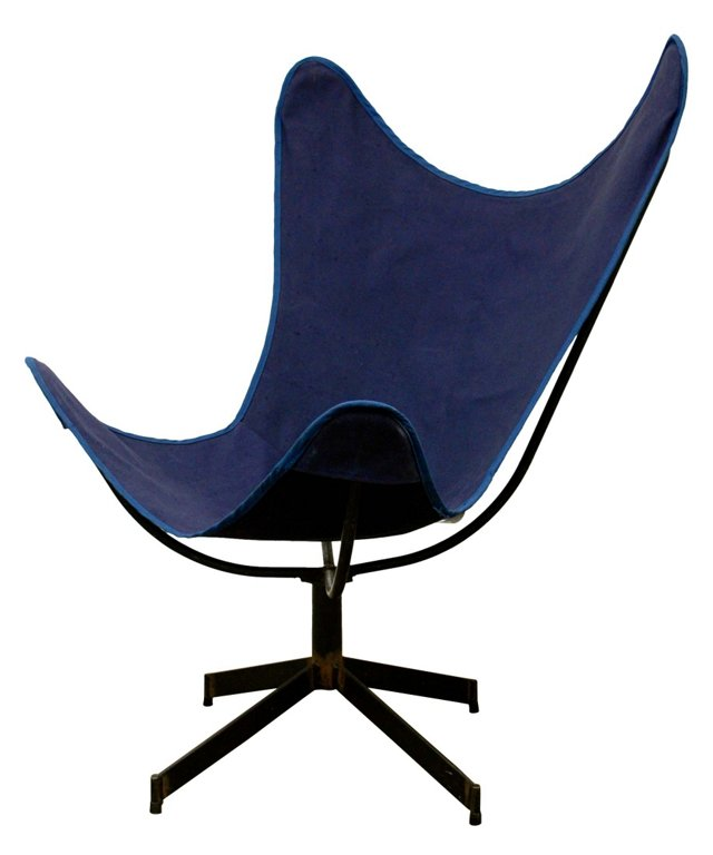 Iron & Canvas Sling Chair