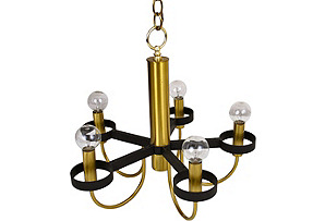Midcentury Lightolier Chandelier*