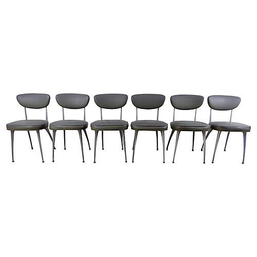 Shelby Williams Dining Chairs, set of 6