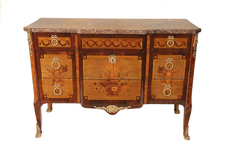 Louis Transitional Commode, Circa 1770
