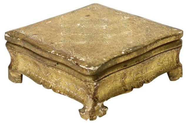 Italian Florentine Gold Box