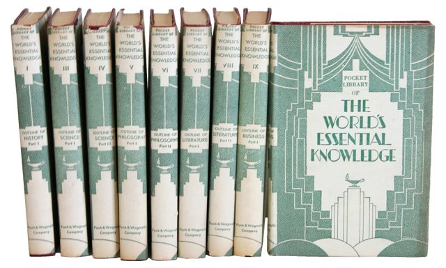 World's Essential Knowledge, 9 Vols