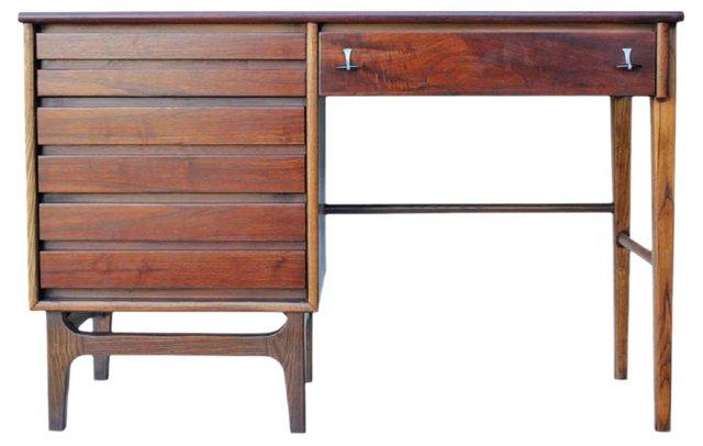 Mid-Century Modern Rosewood Desk