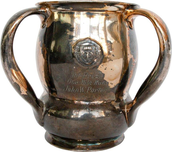 Silverplate Loving Cup