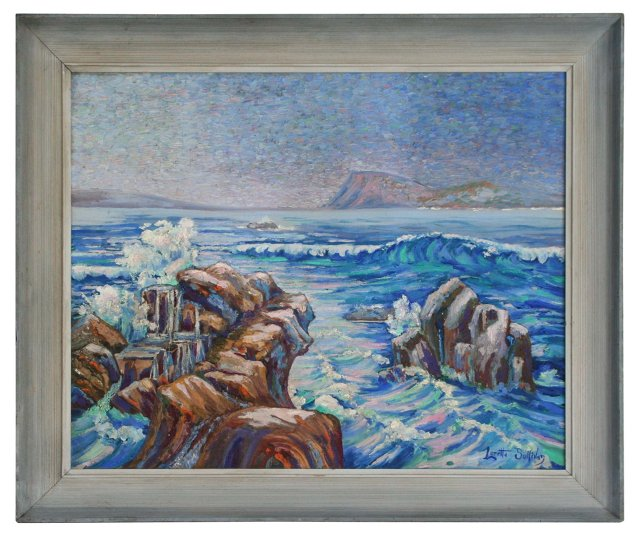 Large Seascape by Loretta Sullivan