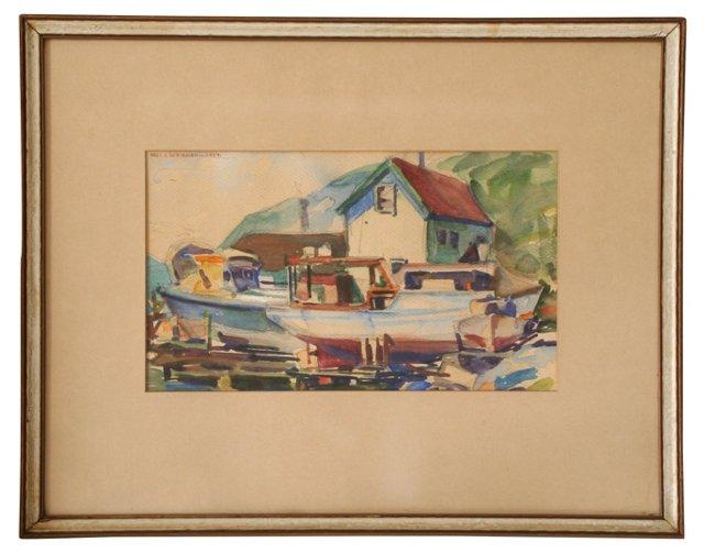 Marina by Arie Soderman, 1934