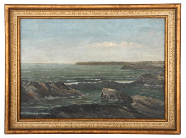 1880s Seascape