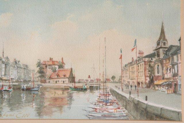 European Marina by A. Etti