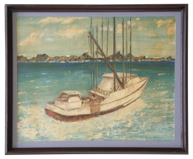 Boat by Frank Romeo