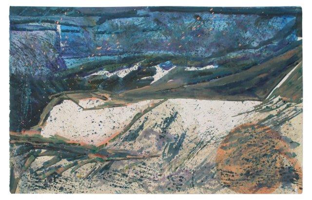 Splatter Abstract by E. Giuliani
