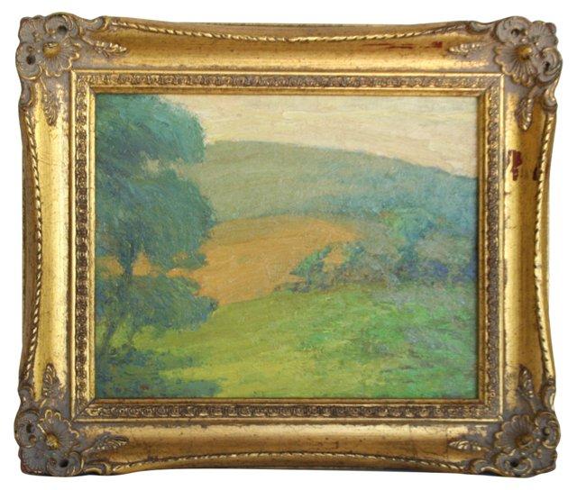 Vibrant Landscape, 1926
