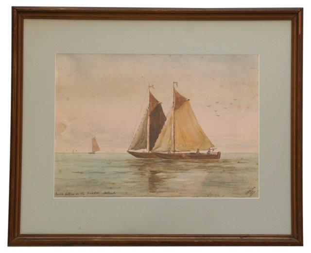 Dutch Boats, 1907