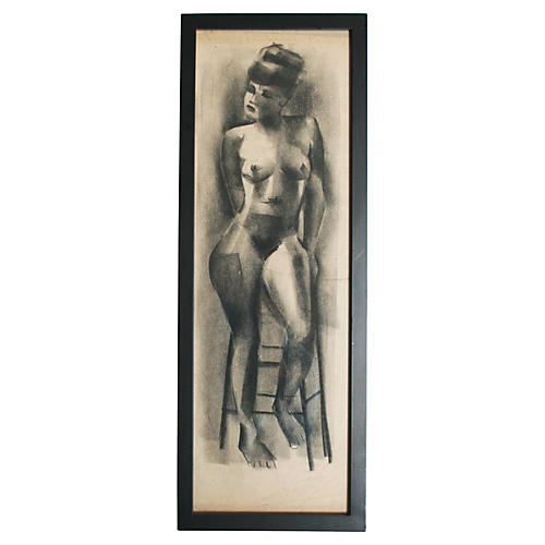 1940s Nude by David Norton