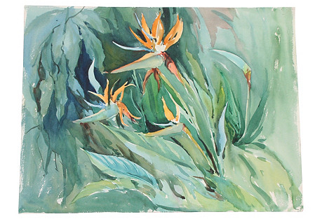 Birds of Paradise (Two-sided)