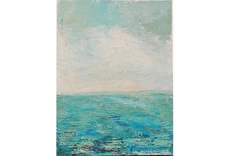 Textured Sea & Sky