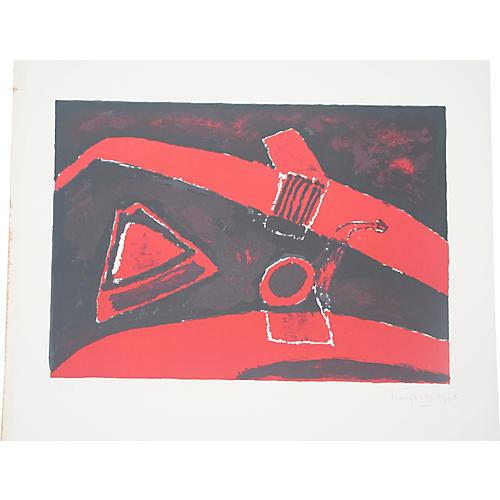 Henri Hayden Lithograph #5