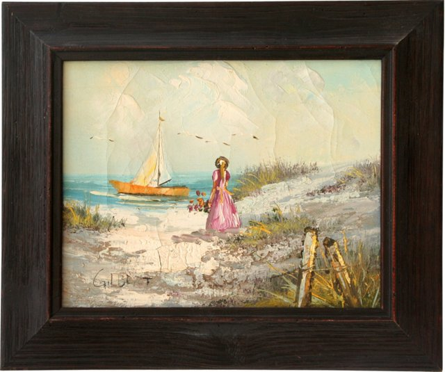 Woman on Shore