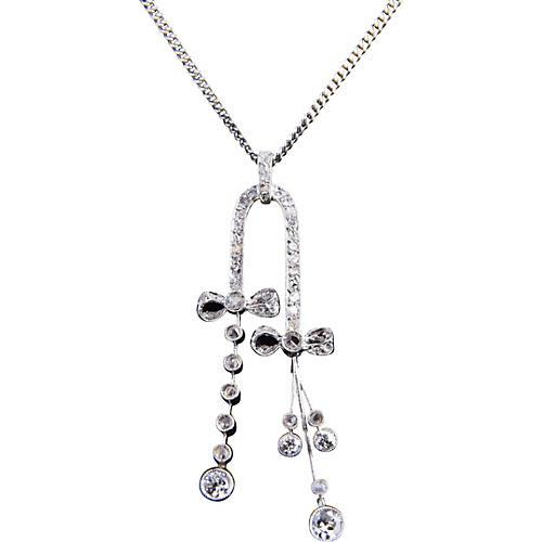 Belle Époque Diamond Negligee Necklace