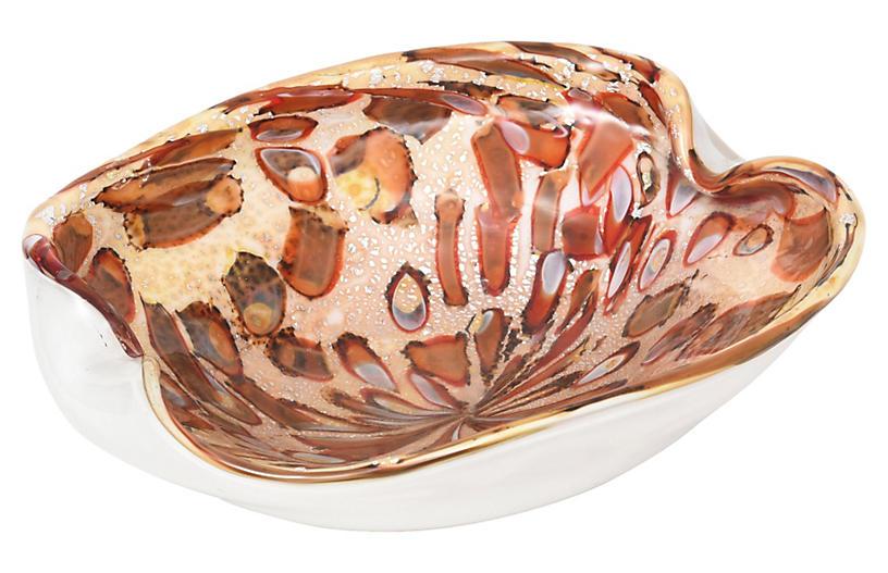 1950s AVEM Murano Millefiori Glass Bowl