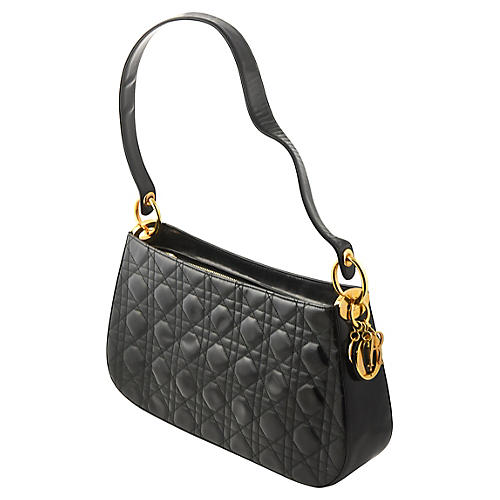 Dior Quilted Patent Leather Purse