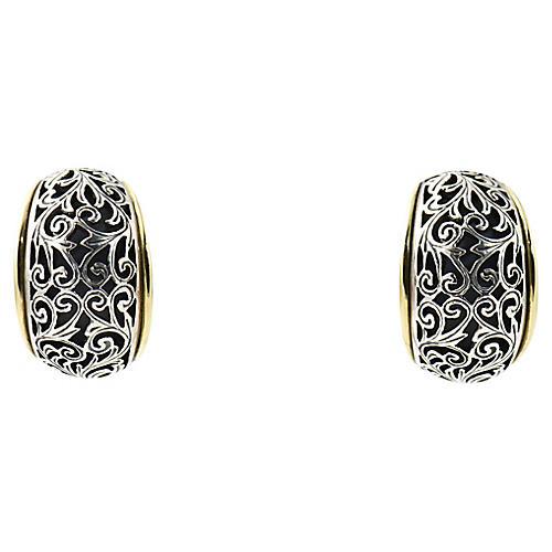 Konstantino Silver & Gold Earrings