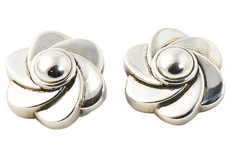Kieselstein Flower Earrings