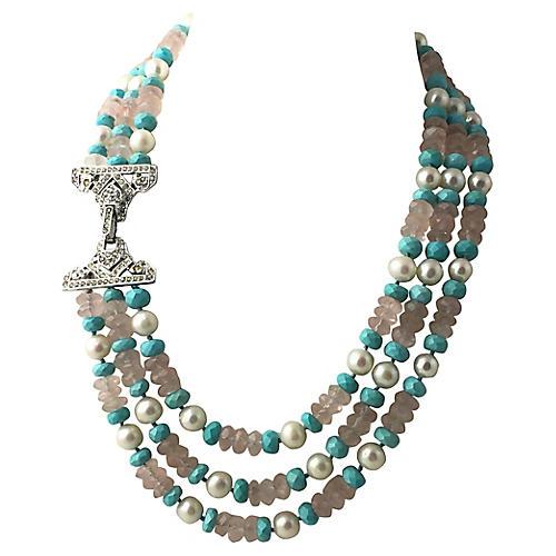 Deco-Style Bead Necklace