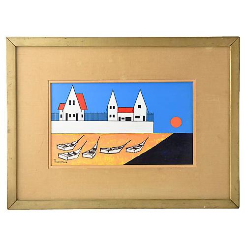 1970s Seaside by Bob Mildrexler