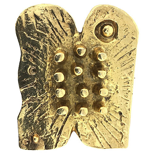 Karavan Brutalist Commandments Brooch