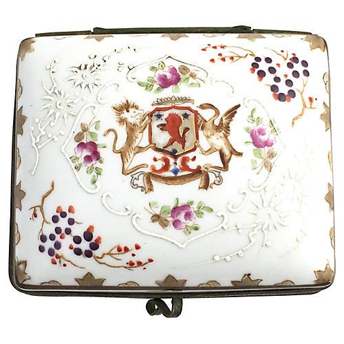 Japanese Porcelain Trinket Box