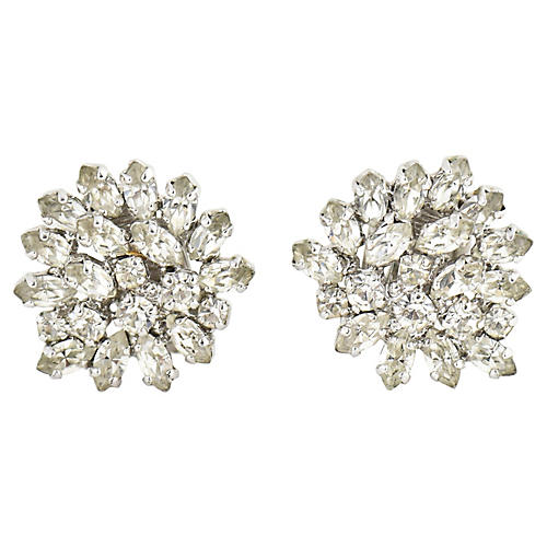 Dior Statement Diamante Earrings