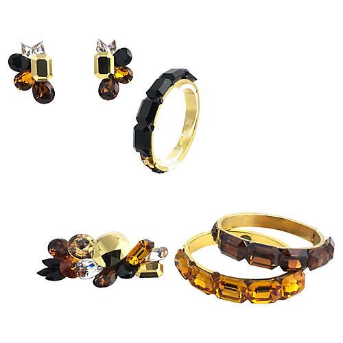 1980s Wendy Gell Jewelry Set