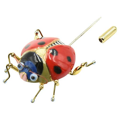 Lucky Ladybug Brooch by Jewelry 10