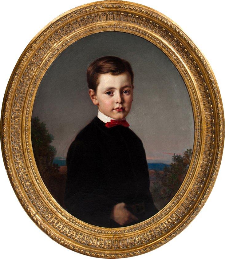 Antique Child's Portrait