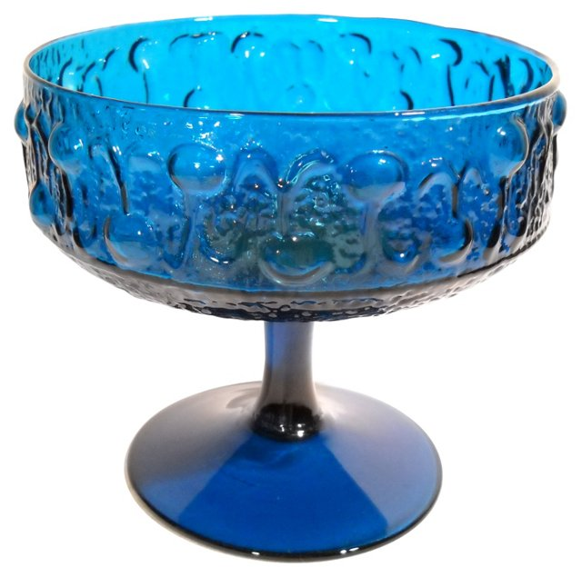 Midcentury Italian Glass Compote